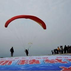 滑翔伞体验