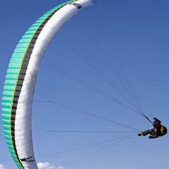 刺激的滑翔伞体验