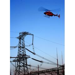 直升机电力线路巡检