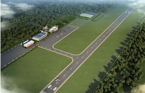 机场简易平面图