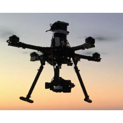 特种无人机 M8八旋翼航测无人机解决方案