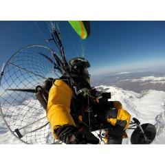 动力伞商飞活动航空传媒空中广告