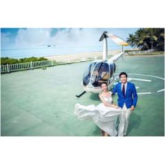 高品质生活 办直升机婚礼