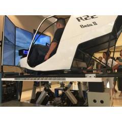 R22全动飞行模拟机
