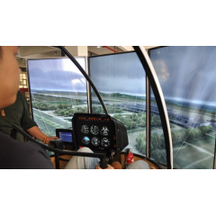 直升机模拟机罗宾逊R22