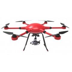 六轴航拍无人机 可挂单反gopro 自动返航飞行器 防水防风