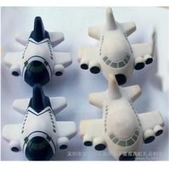 货源出口优质pu飞机减压球安全发泡环保无毒材质运动休闲玩具