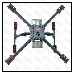 猛禽450mm四轴碳纤机架/小固定飞机FPV多旋翼航拍穿越飞