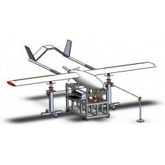 小型无人机重心测量系统