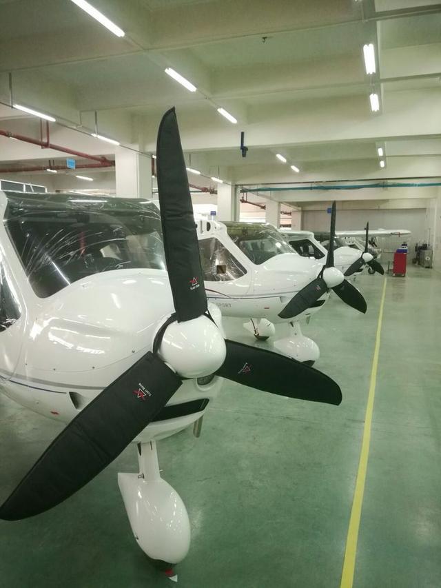 通用航空飞机制造组装的全过程拍摄