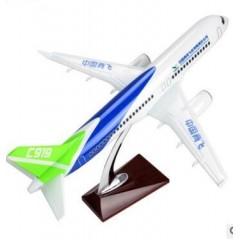 蓝白绿爆款C919航模 收藏臻品 免费包邮