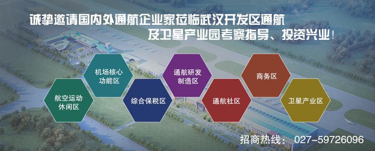 武汉经济技术开发区通用航空及卫星产业园招商