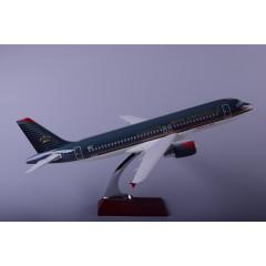 厂家直销空客A320皇家约旦47cm树脂飞机模型