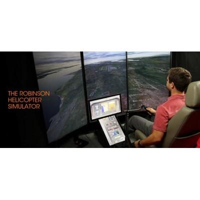 直升机座舱式 飞行模拟器FM 100