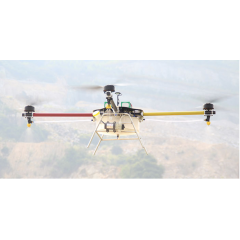 四轴10公斤级农用植保无人机价格 喷药无人机多少钱