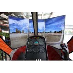 5D仿真直升机飞行模拟器租赁