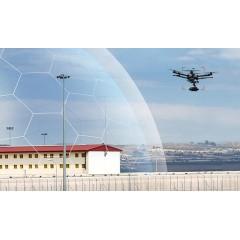 无人机警戒雷达 无人机管控系统机场别墅工厂低空防御无人机