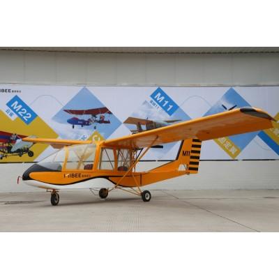 蜜蜂11号轻型飞机M11北航固定翼三座旅游飞机912发动机