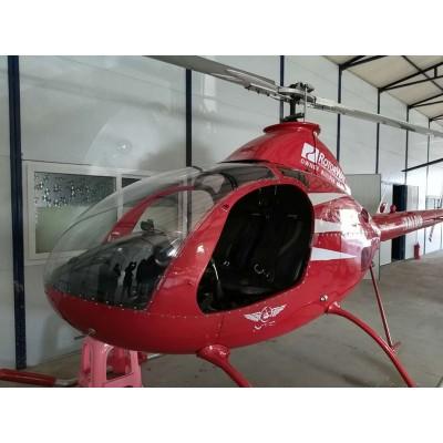 私人飞机直升机双座罗特威A600美国罗特威两座直升飞机
