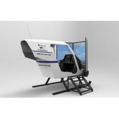科普级直升机模拟体验舱-SR021