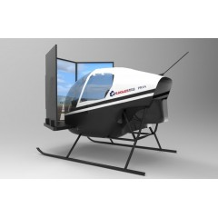 专业级直升机模拟训练舱-PR44