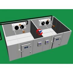 航空复合材料冷库、飞机材料冷藏库、通用航空复合材料生产设备