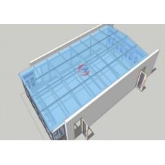 复合材料成型房、航空材料无尘室、蜂窝材料净化房、无尘实验室