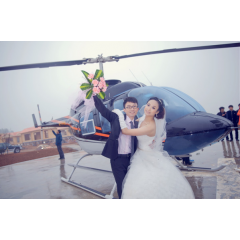 深圳浪漫空中婚礼直升机出租