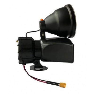 喊话器+探照灯一体