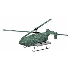 SY-200大型油动共轴双浆舰载无人机