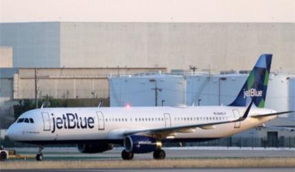 捷蓝航空将成为美国首家碳中和航空公司