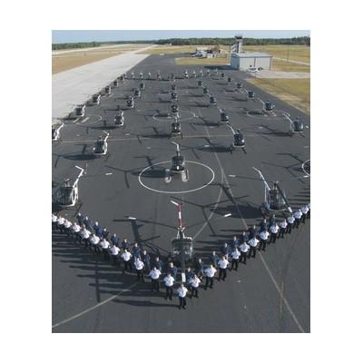 直升机飞行员培训